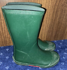 Boy Size 10 Infant - Clark's welly boots - green