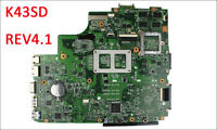 K43SD X43S A43Sd Motherboard For Asus REV4.1 Mainboard GeForce 610M 2GB 100%Test