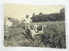 FOTO AGRICOLTURA PIACENZA TRATTORE MOTOZAPPA CONTADINO 1940C