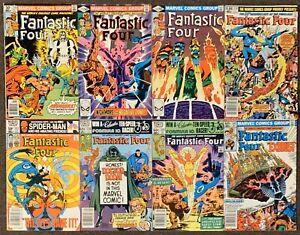 Fantastic Four #230,231,232,236,237,238,239,240 Marvel Comics 1981