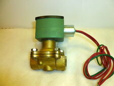 "Asco 3/8"" 8210G033 8210G33 normally open air water valve, 120vac, C1left"