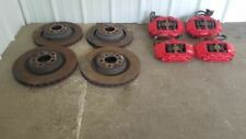 2006-2016 Dodge Charger COMPLETE Set RED Brembo SRT8 Brake Calipers and Rotors