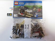 LEGO 60097 ONLY COFFEE SHOP with Minifigures and Bike  NEW !!!