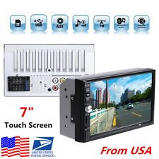 "7"" HD Touch Screen Car MP5 Player Bluetooth Stereo Radio FM USB AUX +Rear Camera"