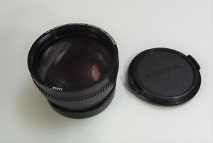 2.0x telephoto conversion lens for video camcorder for canon 52mm and 46 rings