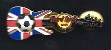 Hard Rock Europe Soccer Flag Series LONDON 2014 Pin. P3