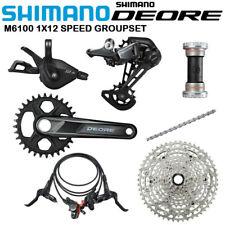 Shimano Deore M6100 12 Speed Groupset Brake Crankset Rear Derailleur Chain