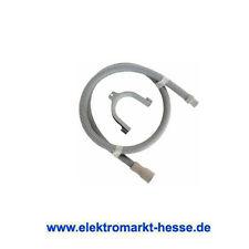 Ablaufschlauch-Verlängerung 2x19mm Anschluss gerade,  2,5 m Länge mit 180° Bogen