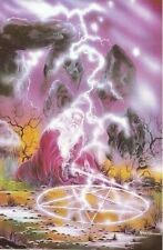 Earth Magic ~ Peter Pracownik 24X36 Fantasy Art Poster Wizard New/Rolled!