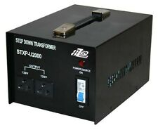 2000W 240V to 120V Step Down Transformer USA to Australian Voltage Converter