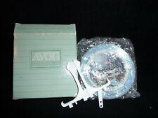 "Nib Avon Miniature Christmas Plate ""Dashing Through the Snow"""