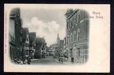 97936 AK Aalen Reliefkarte Straßenansicht plastisch geprägt um 1905 Stengel & Co