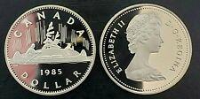 Canada 1985 Voyageur Proof Gem UNC Nickel Dollar!!
