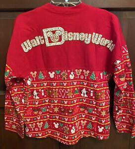 Disney World Kids Size XL Spirit Jersey Holiday Christmas Shirt 2019