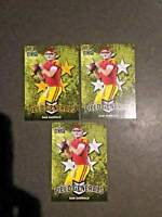 2018 Leaf Draft Football Sam Darnold Field Generals 2 BASE & 1 GOLD RC Card  USC