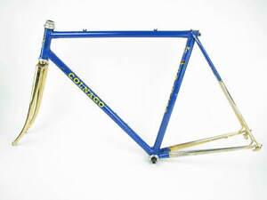 Vintage Colnago MEXICO Oro Road Bike Frame Fork 53 - Rare Frameset