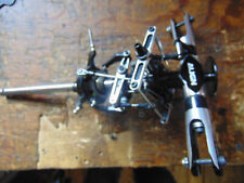 TREX 600/550  MAIN ROTOR HEAD ASSEMBLY C/W FLYBAR SEESAW ASSEMBLY, SWASH, SHAFT