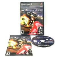 Power Drome Sony PlayStation 2 PS2 Complete Good Multiplayer 2004 Zenimax Media