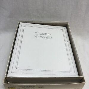VTG 1991 CR Gibson ring Wedding Memories Book Album original box free shipping