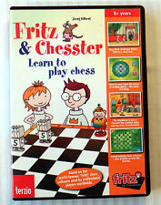 Fritz & Chesster ~ Learn to Play Chess ~ PC Game  Kids Childrens Software CD Rom