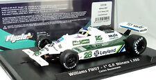 Fly 055106 Williams Fw07 G.P. Monaco 1980 C. Reutemann Brand New 1/32 Slot Car