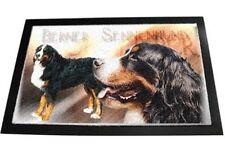 Designer Fußmatte Berner Sennenhund 1 Bernersennenhund Fussabtreter Hundetepich