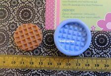 Moule silicone biscuit n°2 gauffre fimo, porcelaine, plâtre, résine, plâtre