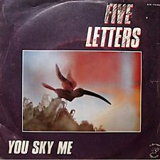 ++FIVE LETTERS you sky me/up and down SP 1982 ATROPA VG++