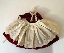 """Vintage MADAME ALEXANDER-KINS MARME DRESS LITTLE WOMEN for 8""""dolls Tag"""