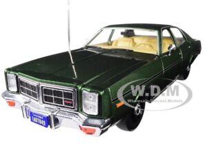 "1977 DODGE MONACO GREEN ""HUNTER"" TV SERIES 1/18 DIECAST CAR BY GREENLIGHT 19045"