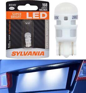 Sylvania ZEVO LED Light 168 White 6000K One Bulb High Mount Stop 3rd Brake Lamp
