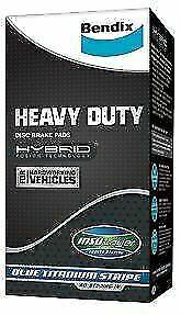 Ford F250 Super Duty 2000-2005 Rear Disc Brake Pads BENDIX DB1891-HD