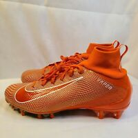 New Nike Vapor Untouchable Pro 3 Orange Football Cleats 917165-800 Men's Sz 11.5