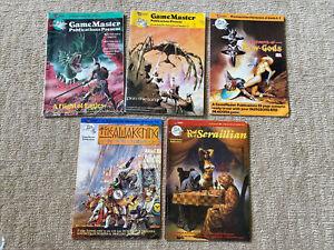 GameMaster Publications GM1 GM2 GM3 GM4 GM5 Dungeons & Dragons