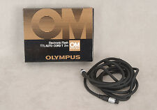 Olympus Electronic Flash TTL Auto Cord T 2m / 6 ft