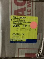 New Square D Qdl32200Yp circuit breaker 200A 240V