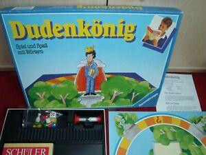 Dudenkönig Spiel Spaß Wörter  Ravensburger Rarität 1988 gepflegt komplett TOP