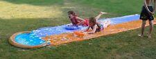 Tobogan de Agua Pista deslizante para dos Niños Juego Aire Libre en el Jardín