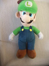 "OFFICIAL NEW SUPER MARIO BROS 9"" LUIGI PLUSH SOFT TOY NINTENDO STUFFED TOY"