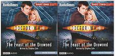 Doctor Who: The Feast of the Drowned, read by David Tennant. Mint. 2 CDs.