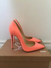 NIB CHRISTIAN LOUBOUTIN SO KATE FLAMINGO HEELS SIZE39.5 RETAIL$675