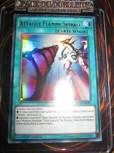 YU-GI-OH! UR ATTAQUE FLAMME SPIRALE DPDG-FR001 EDITION 1 FRANCAIS MINT NEUF