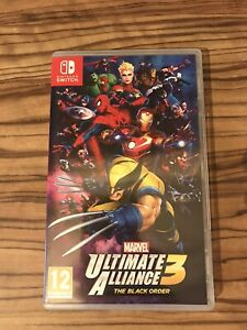 Marvel Ultimate Alliance 3 Nintendo Switch Original Case Only
