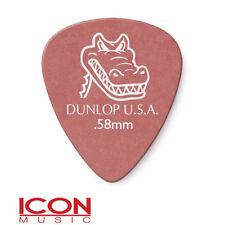 Jim Dunlop Gator Grip Guitar Picks Player Pack of 12 Picks 0.58MM