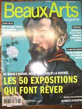 Beaux Arts Magazine N°363 Niki de Saint Phalle Monet Maeght Camille Henriot expo