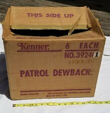 Star Wars Vintage PATROL DEWBACK Empty Factory Shipping Case Box Kenner 1979