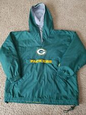 Vintage Starter Green Bay Packers NFL Pro Line Pullover Jacket Youth X Green