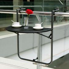 Table de Balcon Pliante Suspension Pliable Table suspendue Rabattable Table R1C6