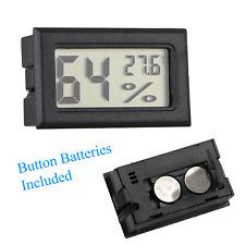 Mini Digital LCD Temperature Sensor & Humidity Meter- Hygrometer - FAST DISPATCH