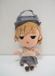 "Toaru Kagaku no index Misaka Mikoto SK Japan 8"" Plush Stuffed Toy Doll"